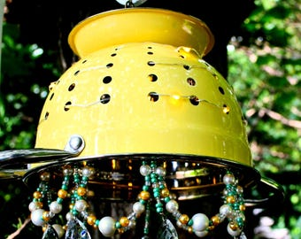 Yellow Chandelier Chime