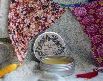Breast & Belly Balm : Herbal Balm for Nursing, Stretch Marks + Sore Nipples