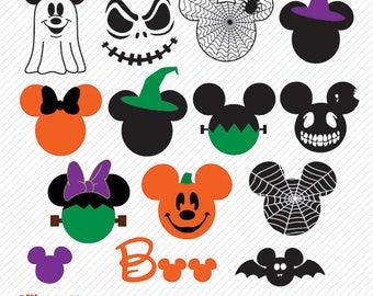 Mickey Halloween SVG, DXF, Mickey Halloween  Clipart, Mickey Halloween svg, Mickey Halloween, Mickey Halloween png, Mickey Halloween Vector