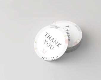 Amelia James THANK YOU Stickers, Multi Purpose | GEO