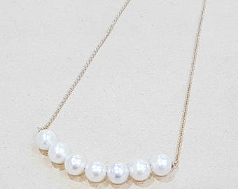 9ct Gold South Sea Pearl Necklace