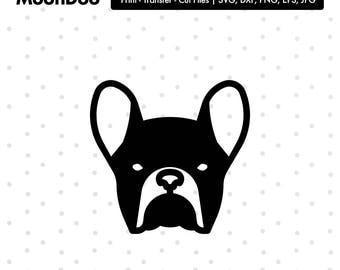 Bulldog clipart | Etsy