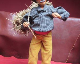 Santon de Provence A.Gateau * 30 cm * Man hay
