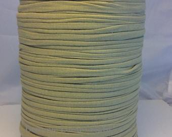 Large spool of Trapilho cotton green gray
