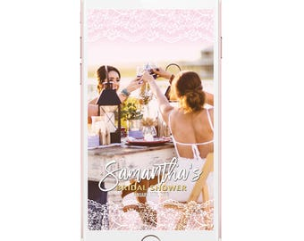 Bridal Shower Geofilter, Bridal Shower Snapchat, Geofilter Bridal, Bridal Shower Snapchat Filter, Geofilter Bridal Shower, Geofilter Lace