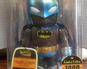 Batman Japanese Vinyl Blue Silver Glitter