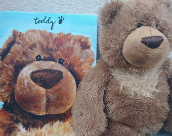 baby's first teddy & pet portraits