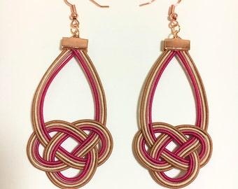 Mizuhiki Hook Earrings