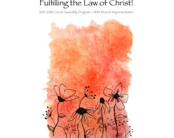 ENGLISH Don't Give Up in Fulfilling the Law of Christ!
