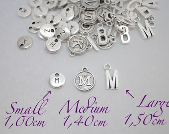 Add a initial charm, Personalized Charm, Add on Initial Charm, Add initial, Personalized jewelry, add letter, A-Z Letter Charms, initial