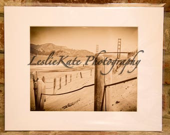 San Francisco Beach Photograph (Matted)