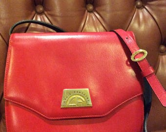 Vintage Louis Fontaine Leather Bag
