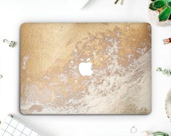 Gold Marble Macbook Pro Case Marble Laptop Case Macbook Hard Case Macbook Air Marble Macbook Air 13 Marble Macbook  Macbook Pro 2016 AMM024