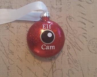 Elf or Santa Camera Ornament