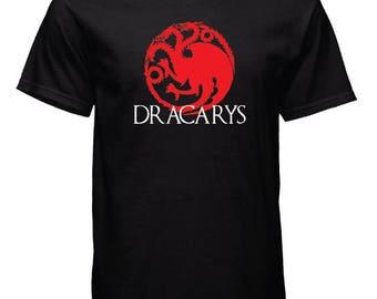 DRACARYS - Targaryen - Game of Thrones - Tshirt