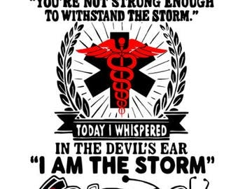 The Devil Whispered.... Nurse