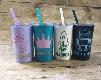 Kids Personalized Stainless Steel Tumbler 12 oz