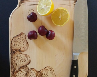 Strawberry Jam Jar