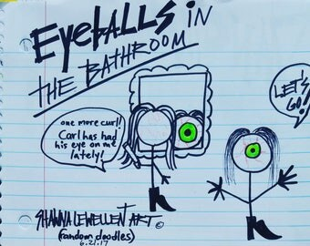 Famous Funny Doodles By International Artist/Author Shawna Lewellen! Her fine art pieces sell between 10,000 -500,000 through her broker