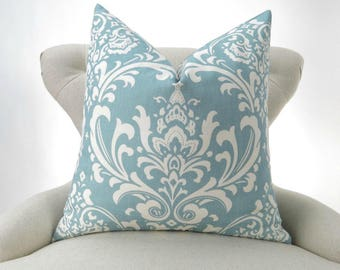 Blue and cream Cushion cover several patterns
