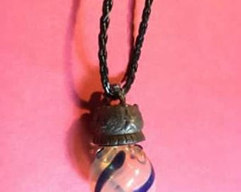 Perfume Bottle Necklace