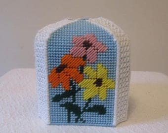 Soft Flowers Boutique Tissue Box Cover