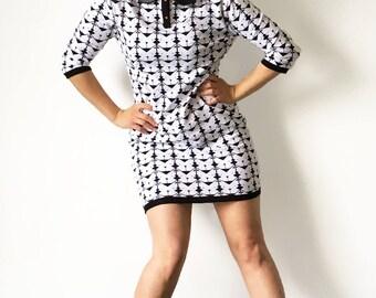 Miss Tigri: origami dress