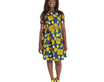 African clothing, Ankara dress, African Print,