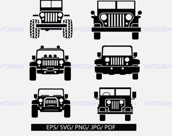 Jeep SVG, car svg, Jeep Girl SVG, Jeep, Jeep cut image,Jeep, Svg Files for Silhouette Cameo or Cricut, files pdf, eps, png, jpg, svg
