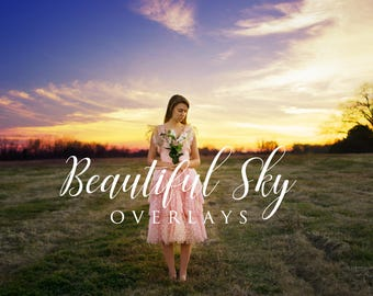 15 Premium Cloud Overlays Preview Package, Photoshop Editing, Photography Edit, Creative, Fine Art, Clouds, Sky, Textures