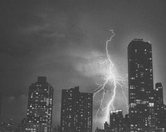 Storm Over Central Park