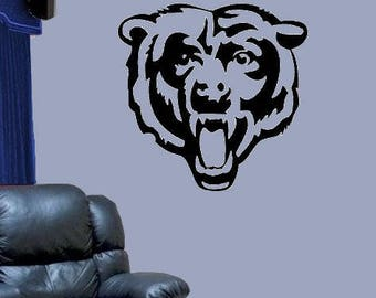 Chicago BEARS #1 Vinyl DECAL Car Truck Window Wall Office Home Decor Game  Room Man Part 54