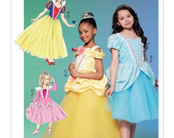 Princess M7673 Mc Call's costume sewing pattern