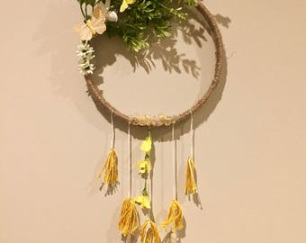 Golden Butterfly Dreamcatcher