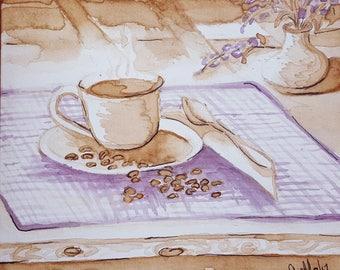 Coffee & Wine Greeting Card Box set