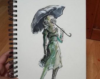 Umbrella Diver