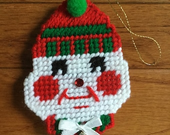 Snowman Ornament and Refrigerator magnet