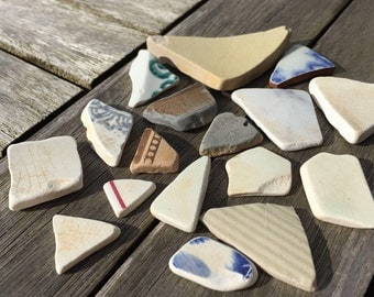 Genuine scottish sea pottery