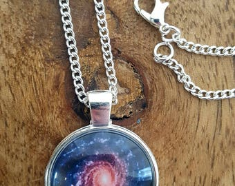 Spiral Galaxy necklace
