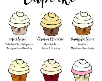 Custom Cupcake Flavor Sign | Weddings, Birthdays, Showers, and more