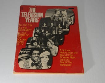 The Television Years Magazine, Collectible, 1974