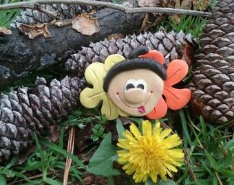 Autumn Acorn Magnet