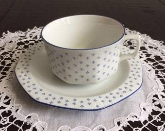 Vintage  Bavaria cups and saucers, Seltmann Weiden porcelain, china