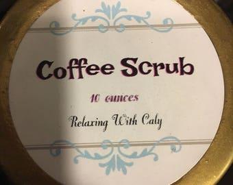 Organic Coffee Scrub 10 Ounces