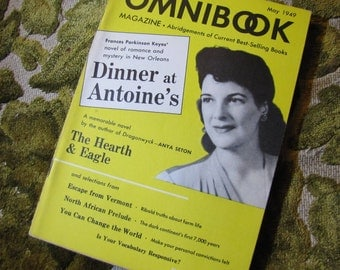 Vintage Omnibook May 1949 Issue