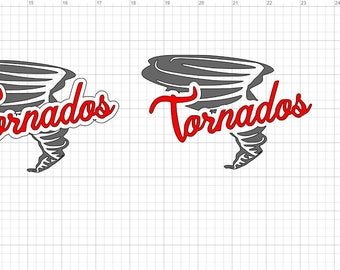 Tornados SVG Digital Image