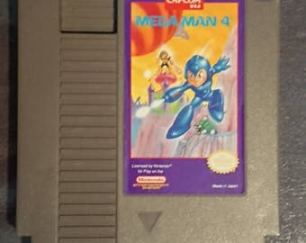 Mega Man 4 | Nintendo NES | Original Games Not REPO