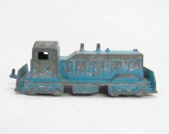 Vintage Midgetoy toy train engine die cast made in USA Chicago