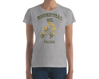 Essential Oil Cassia Women's short sleeve t-shirt