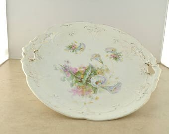 Calla Lily Decorative Plate - Unmarked